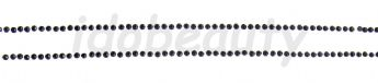 1  STRIP BLACK 2MM GEMS DIAMOND NAIL ART DECORATIONS FOR NAILS 15cm 2 LONG LINES